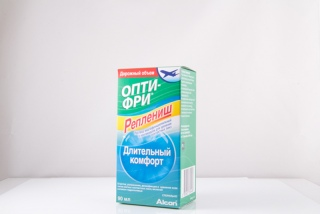 Раствор Opti  Free Replenish 90 ml (Alcon)