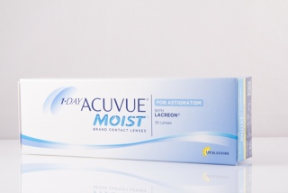 Контактные линзы 1-DAY Acuvue Moist for ASTIGMATISM 30 pk (Johnson&Johnson)