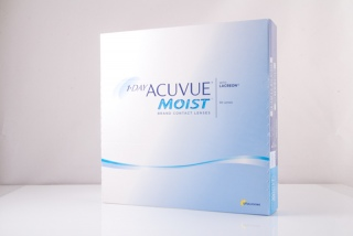Контактные линзы 1 Day ACUVUE Moist 90 pk (Johnson & Johnson)