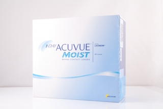 Контактные линзы 1 Day ACUVUE Moist 180 pk (Johnson & Johnson)