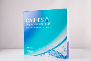 Контактные линзы Dailies Aqua Comfort Plus 90 pk (Alcon)