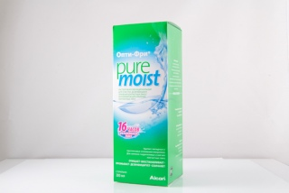 Раствор Opti Free Pure Moist 300 ml (Alcon)