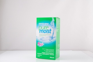Раствор Opti Free Pure Moist 120 ml (Alcon)