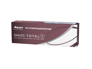 Контактные линзы Dailies TOTAL 1 30 pk (Alcon)